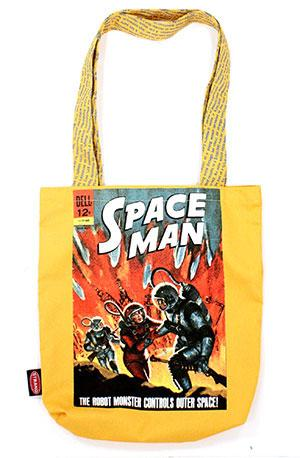 Tote Bag: Pulp Space Man