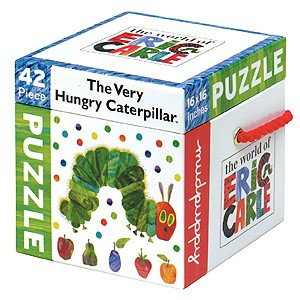 42 Piece Puzzle: Eric Carle Caterpillar Toys & Games