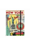 NY Vintage Collage Notebook 6X8