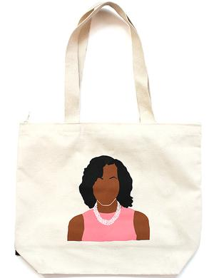 Large Tote: Michelle Obama ICON