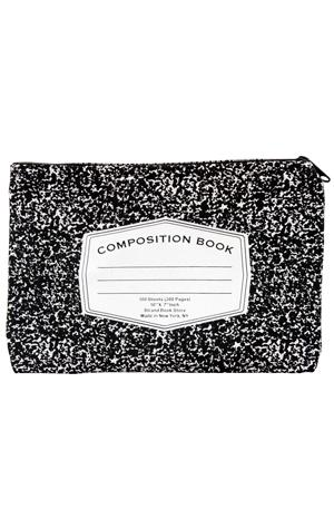 Pouch: Composition Book