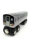 Train: L 14th St Canarsie Local NYC Subway Wooden Car