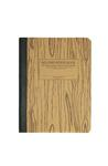 Notebook: Woodgrain
