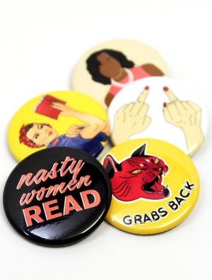 Nasty Women Unite Button Combo (5 Pack)