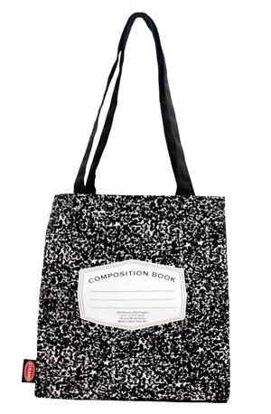 Tote Bag: Composition Book Gifts for Grads + Teachers