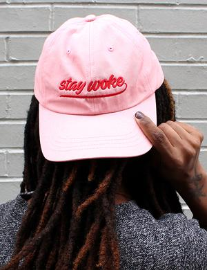 Hat: Stay Woke Clothing