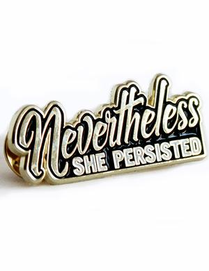 Pin: She Persisted